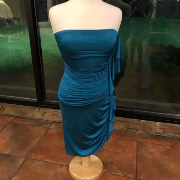 Cache Dresses & Skirts - CACHE STRAPLESS DRESS